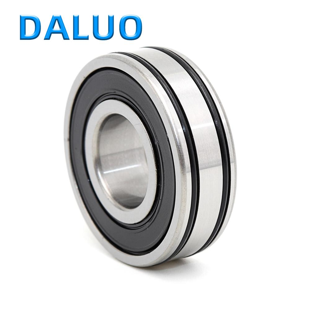 1PCS AC 6202-2RS1 P5 15X35X11 DALUO AC Bearing AC-6202LLU AC-6202LLB ABEC-5 Deep Groove Ball Bearings Creep Protection