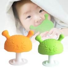 Baby Beißring Spielzeug Baby Jungen & Mädchen Zahnen Spielzeug Silikon Baby Wund Gum Wund Gum BPA FREI Zahnen Pilz Spielzeug