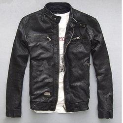 Hoge Kwaliteit Lente Herfst Mannen Echt Lederen Jas Korte Slanke Moto Jassen Voor Mannen Bovenkleding Jaqueta De Couro MF030