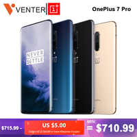 Global ROM Oneplus 7 Pro Mobile Phone 12GB 256GB Snapdragon 855 6.67