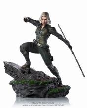 Disney Marvel Avengers Black Widow 18cm Action Figur Haltung Modell Anime Dekoration Sammlung Figur Spielzeug modell für kinder