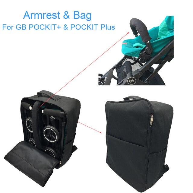 Sac de voyage pour poussette de bébé et accoudoir pour go pockit plus, sac de rangement pour Goodbaby Pockit + (pas pour toute la ville)