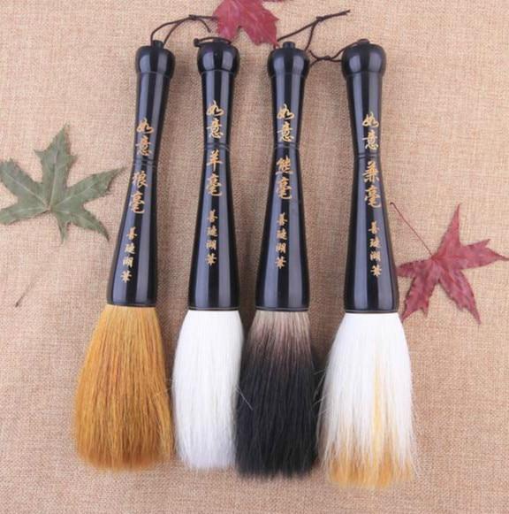 novo chines pincel de caligrafia caneta de tinta tradicional la doninha multipla caligrafia escrita escova funil