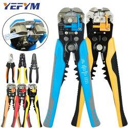 Многофункциональные плоскогубцы для зачистки кабельных проводов 0,25-6 мм2, HS-D1 YE-1, брендовые щипцы, акуматические электрические инструменты ...