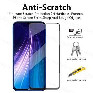 Image 3 - Glas Voor Xiaomi Redmi Note 8 2021 Screen Protector Gehard Glas Voor Redmi Note 8 2021 Beschermende Film Voor Redmi note 8 2021