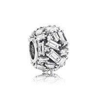 100%, 925 пробы, серебряные 1:1, 797746CZ, ТОЧЕНЫЕ, элегантные, очаровательные, оригинальные, женские, зимние, модные, подарок, ювелирные изделия