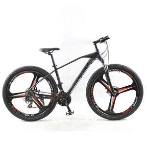 GORTAT Bicycle Mountain bike 24speed 29 Inch Aluminum Alloy Road Bikes mtb bmx 3 cutter wheels bicycles Dual disc brakes(China)