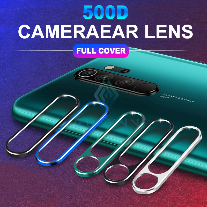 For Xiaomi Redmi Note 8 7 8T K20 Pro On For Xiaomi Mi 9 T Cover 2 In 1 Camera Lens Screen Protector Rear Protection Ring Case