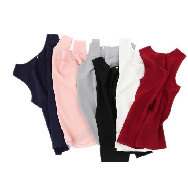 Women's 100% Pure Silk Tank Top   Blouse     Shirt   sleeveless Vest L XL 2XL JN006