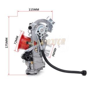Image 2 - FCR28 31 33 35 37 39 41mm FCR Racing Carburetor FCR39 CRF Slant Side Carburettor For CRF450/650 FS450 Husqvarna450 KTM Racing