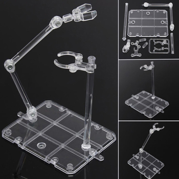 Action Figure Base Suitable Display Stand Bracket For 1/144 Hg/rg Animation Stage Act Suit Animation Cinema Game Display Stand image