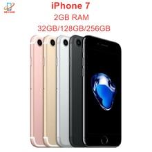 Apple iPhone 7 iPhone7 32/128/256GB ROM 2GB RAM IOS A10 Fusion Quad Core 4G LTE NFC Fingerprint Original Handy Entsperrt