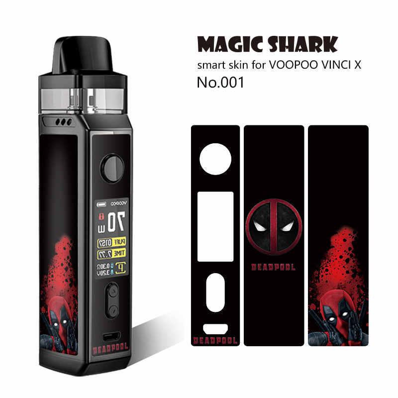 Magic Cá Mập 2.5D 3M PVC V-Vendatta Quân Lá Batman Deadpool Game Of Thrones Siêu Mỏng Miếng Dán Phim ốp Lưng Dành Cho VOOPOO Vincy X