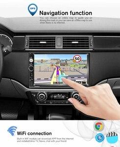 Image 5 - 2G RAM אנדרואיד 8.1 אוטומטי רדיו Quad Core 7 אינץ 2DIN אוניברסלי רכב אין נגן DVD GPS סטריאו אודיו ראש יחידת תמיכת DVR OBD BT