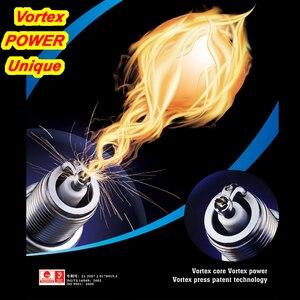 4 шт. синий наконечник Bougie Свеча зажигания для двигателя VORTEX HX-C7 для C7HSA CR7HIX CR7HSA CR7HS CR7HVX A7RTC A6RTC IUF22 U22FS A7RIU 70cc