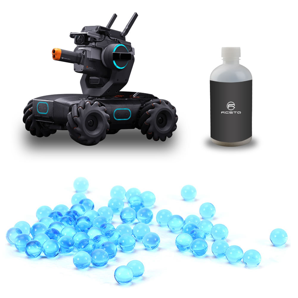 30000 Pcs Dedicated Water Beads For DJI RoboMaster S1 Gel Bead Growing Crystal Ball Swelling Hydrogel Polymer Accessories