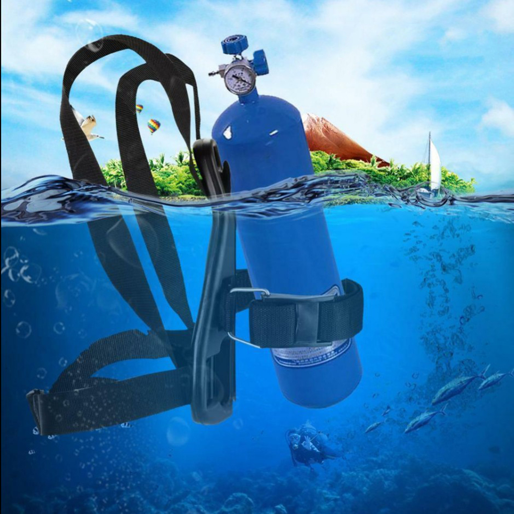 Standard Single Tank Back Pack Strap Holder Tank Back Pack For Scuba Diving Snorkeling Freediving Spearfishing Diving