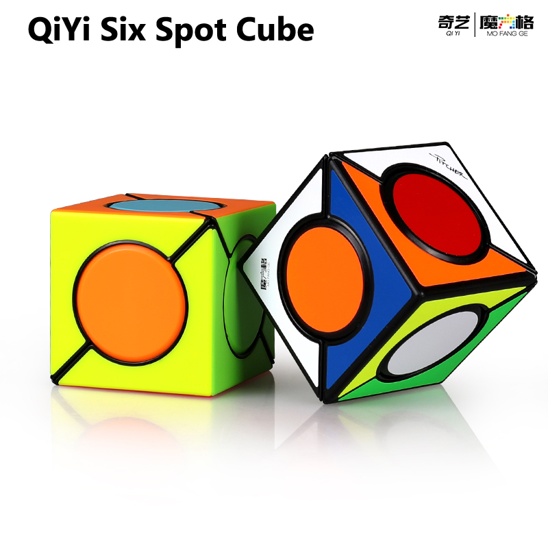Hot Selling QiYi FangYuan 6 Six Spot Speed Magic Cube Professional Puzzle Educational Toys For Children Gift Magico Cubo