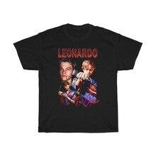 Maglietta ispirata a Leonardo Di Caprio Vintage anni '90