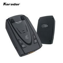 Karadar-Detector de Radar 2 en 1, Detector de Radar, Modo Automático X K CT, bandas láser, Radar Detector para Rusia