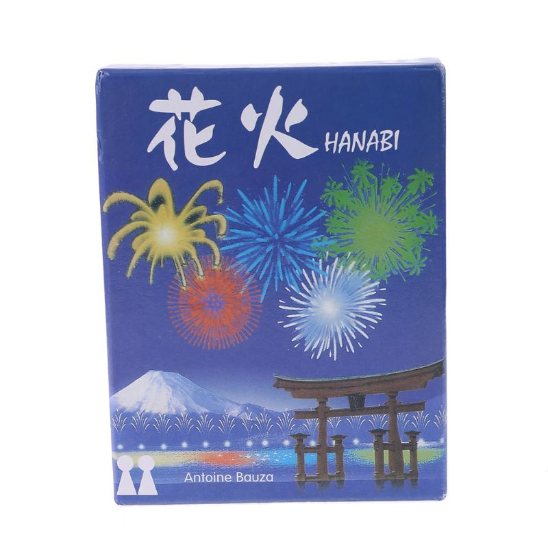 HANABI Board Game 2-5 Players Cards Games Easy To Play Funny Game For Party/Family Parent-Child Game