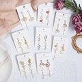 MWSONYA/новые модные корейские Роскошные серьги-подвески с цветными бабочками и цветком Rhienstone с кисточками для женщин, вечерние ювелирные изде...