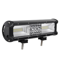 DHBH 12 Inch 840W Flood Led Work Light Bar Combo Driving Lamps Waterproof 68Led Work Light 6000K for Suv Atv Offroad Vehicle