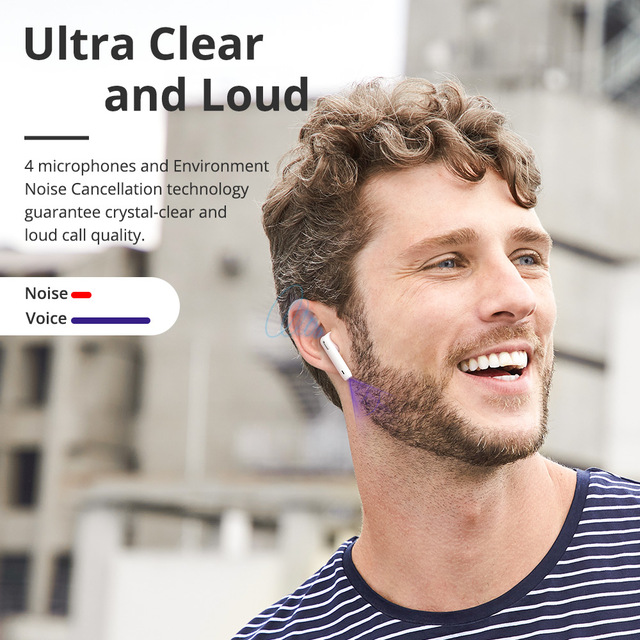 Tronsmart Onyx Ace TWS Bluetooth 5.0 Earphones Qualcomm aptX Wireless Earbuds Noise Cancellation with 4 Microphones,24H Playtime 6