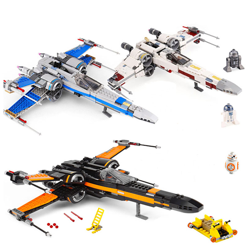 Lepining Star Wars Order Poe's X Toys wing Fighter Building Block Bricks Educational Gifts StarWars kids gifts