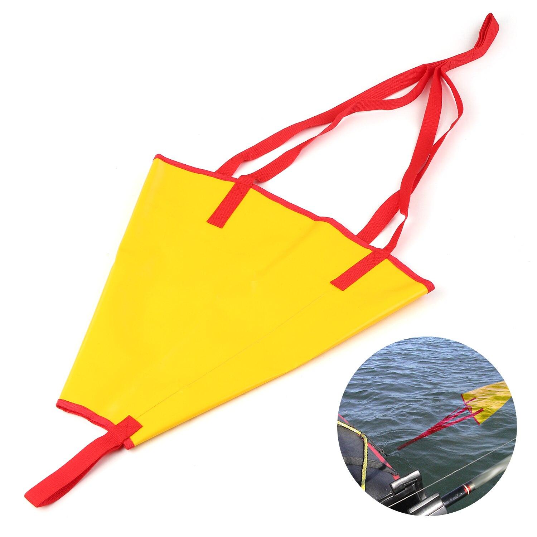 "Kayak 18/"" Drift Sock Fishing Boat Anchor Made In USA Safety Orange"