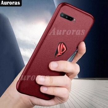 Auroras Per ASUS ROG Del Telefono 3 Custodia In Silicone Morbido Compagno di Caso di Copertura di Protezione Completa Per Asus Rog 3 Del Telefono Shockproof caso