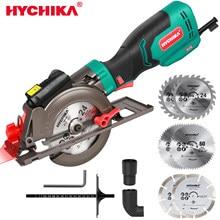 230v serra circular hychika 500w 750w multifuncional elétrica mini serra circular ferramenta elétrica