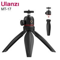Ulanzi MT-17 Mini treppiede regolabile staccabile testa a sfera treppiede testa per Sony A6400 A6300 A73 Smartphone SLR fotocamera Vlog treppiede