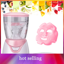 Pink Mask Make Machine Natural Electric Fruit Vegetable Collagen DIY Shrink Pore Moisturizing Anti Ageing Mask Skin Care Beauty цена и фото