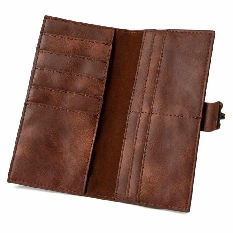 Tren Kopling Tas untuk Wanita Dompet dan Tas Pesta Wanita Dompet Wanita Panjang Dompet Dompet Clutch RFID Memblokir Dompet