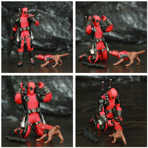 """Image 2 - One:12 Deadpool 6 """"Action Figure vestiti abito di stoffa Dead Pool Legends Dog 1/12 1:12 Comic Movie Toys modello di bambola"""