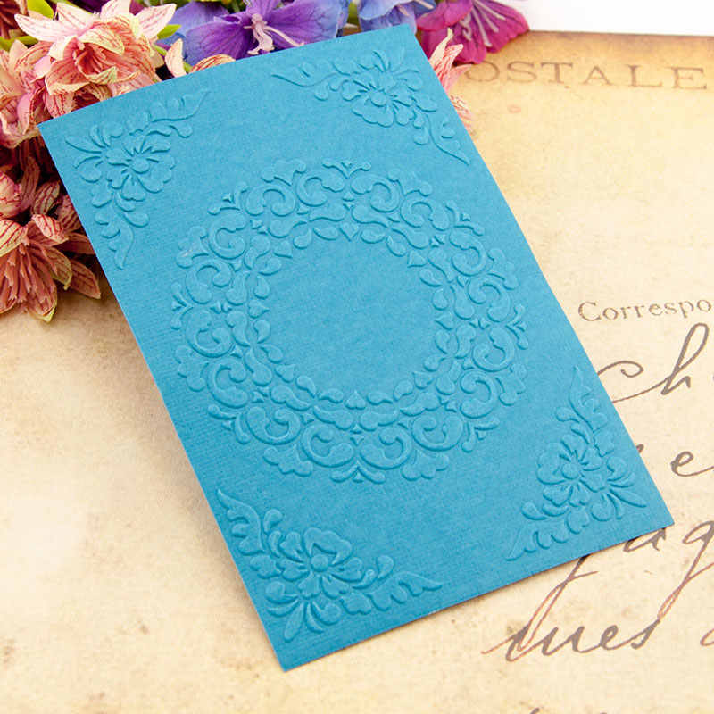 Pasen plastic krans template craft card making papieren kaart album bruiloft decoratie Embossing mappen