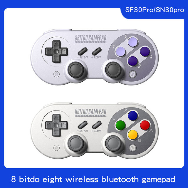 8 8bitdo SN30 פרו inalámbrica Bluetooth Gamepad controlador קון ג ויסטיק para Windows אנדרואיד macOS Nintendo interruptor דה אדי