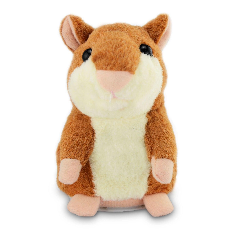 Dropshipping promosyon 15cm güzel Talking Hamster konuşmak konuşma ses kayıt tekrar dolması peluş hayvan Kawaii Hamster oyuncaklar