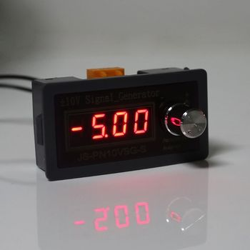 High precision 0 01V regulowane napięcie analogowy symulator-10V + 10V LCD Generator sygnału tanie i dobre opinie OOTDTY CN (pochodzenie) Elektryczne 2 9 Cali i Pod Signal Generator