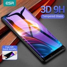 ESR 기술 샤오미 믹스2/2S 강화 유리 3D 9H 안티 블루레이 전체 커버 핸드폰 화면 보호 샤오미 믹스2s  믹스2 적용