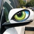 1 Автомобильная наклейка «кошачий глаз», наклейка на зеркало заднего вида