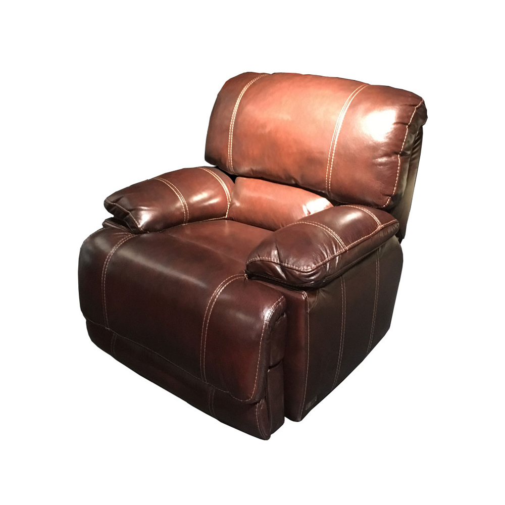 Electric Recliner Relax Massage Swivel Rocking Chair Theater Living Room Sofa Bed Functional Genuine Leather Couch Nordic Modern