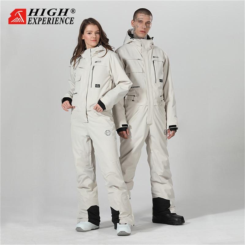 Ski Suit Men Winter Suit Men Ski Jacket Men Snowboard Jacket Women Ski Jumpsuit Snowsuit Skiing Snowboarding Suits Waterproof