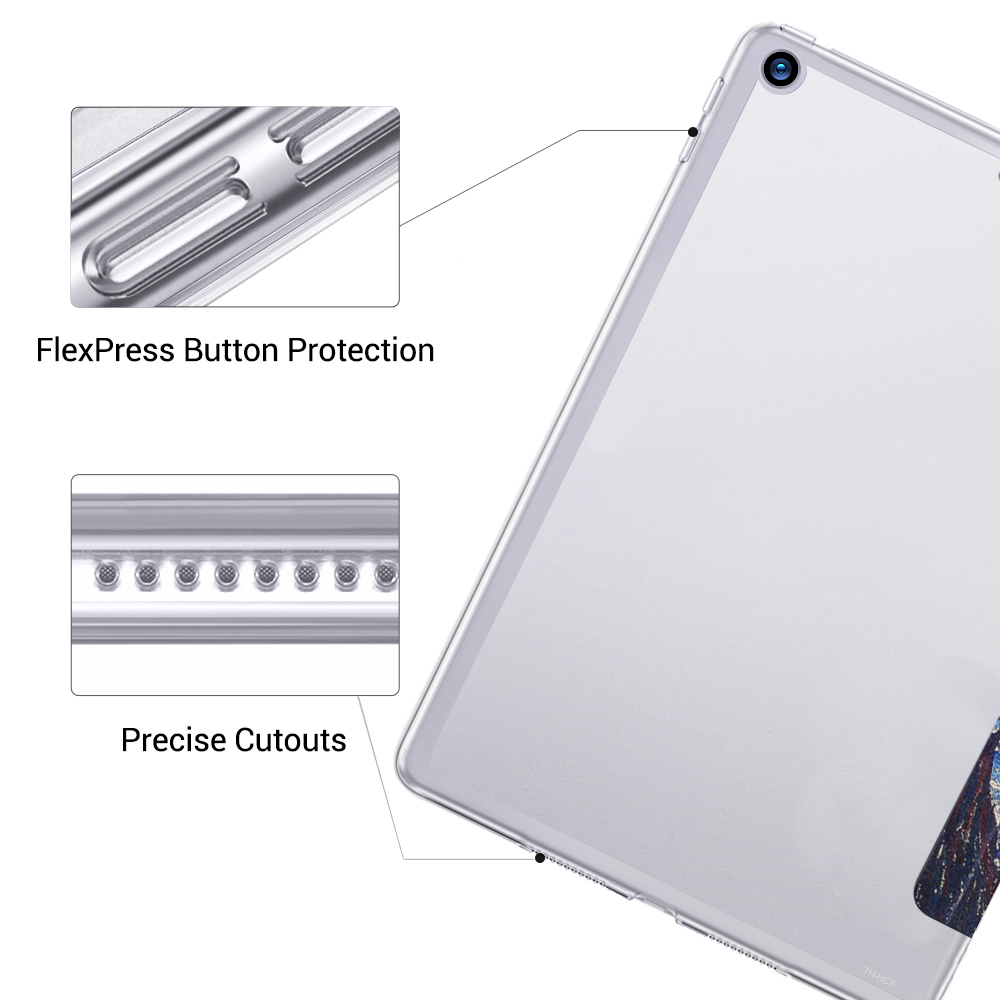Magnetic Case for Apple iPad 7th 10 2 2019 A2197 A2198 A2200 A2232 WI FI PU