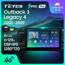 TEYES SPRO For Subaru Outback 3 Legacy 4 2003 - 2009 Car Radio Multimedia Video Player Navigation GPS Android 8.1 No 2din 2 din dvd