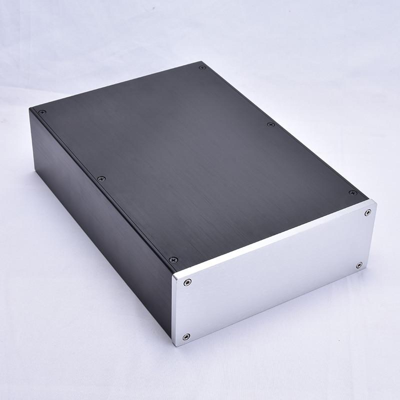 Aluminum DIY Project Box Enclosure Case PCB//Amplifier//Electronic 203*145*68mm