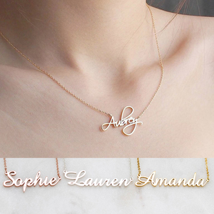 DODOAI Custom Necklaces Personalized Name Necklaces Jewelry Personality Letter Choker Necklaces with Name for Women Girls Mother