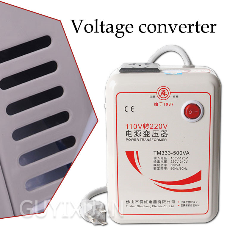 <font><b>500W</b></font> small transformer <font><b>110V</b></font> <font><b>to</b></font> <font><b>220V</b></font> dry voltage <font><b>converter</b></font> suitable for foreign applications in China image