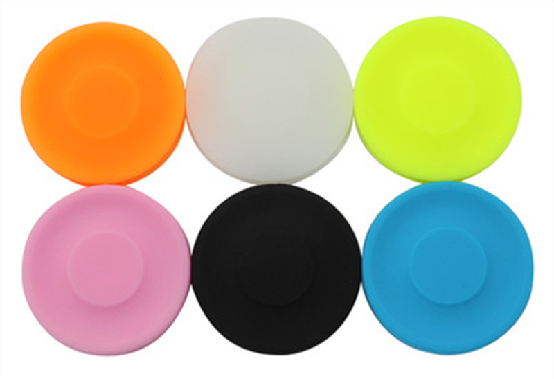 6-color American Creative Flying Saucer Outdoor Sports Mini Silica Gel Flying Ufo Spinner Disc Fingertip Gyro Toy